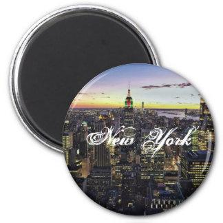 Standarda New York, ¼ 2 flytta sig mycket långsamt Magnet