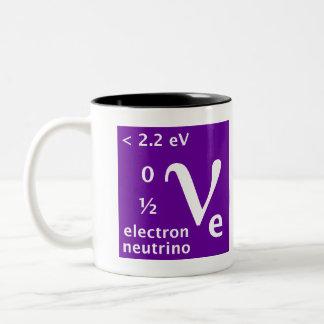 Standart modellera (elektronneutrinoen) kaffe mugg