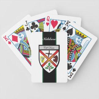 Ståndsmässiga Kildare som leker kort Spelkort