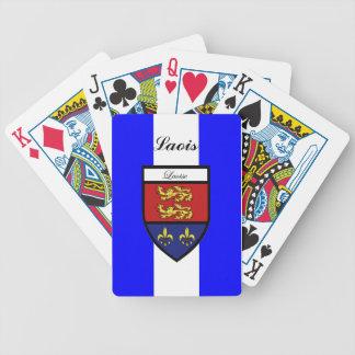Ståndsmässiga Laois som leker kort Spelkort