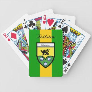 Ståndsmässiga Leitrim som leker kort Spelkort
