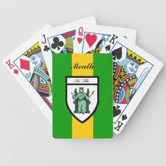 Ståndsmässiga Meath som leker kort Spelkort