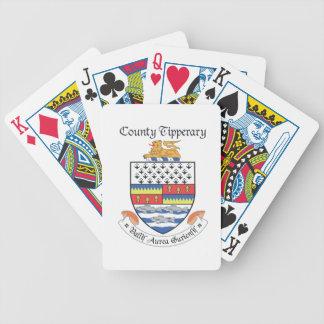 Ståndsmässiga Tipperary som leker kort Spelkort