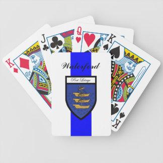 Ståndsmässiga Waterford som leker kort Spelkort