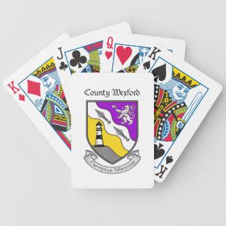 Ståndsmässiga Wexford som leker kort Spelkort