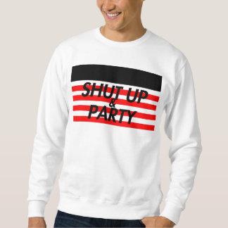 Stäng sig upp & festa sweatshirt