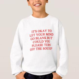 stäng sig upp! tröjor