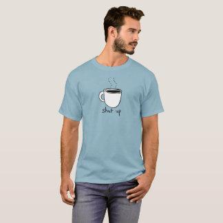 Stäng upp kaffeT-tröja T Shirts