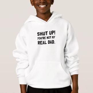 Stäng upp pappan t-shirts