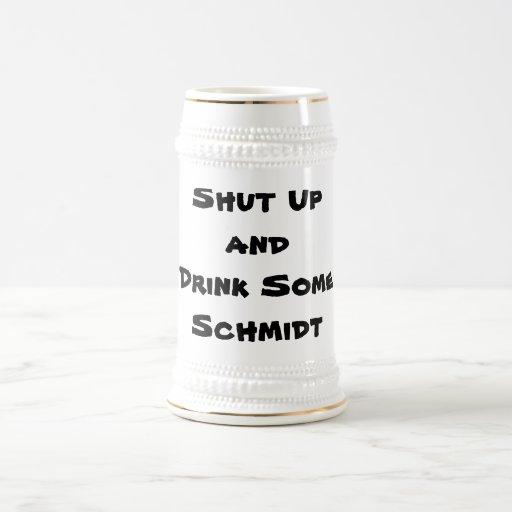 Stängd Upand drink någon Schmidt Kaffe Kopp