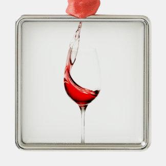 stänk för vinexponeringsglas julgransprydnad metall