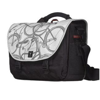 Staplad cykelmessenger bag laptop bag