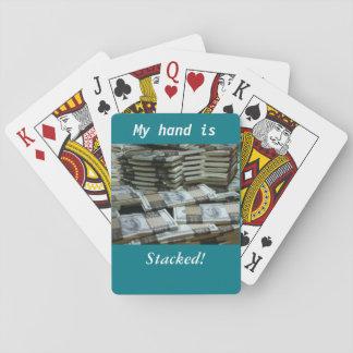 Staplat räcka! spelkort