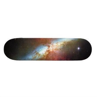 Starburst för hög frekvensstjärnabildande galax M8 Skateboard Bräda 19,5 Cm