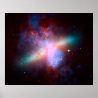 Starburst galax print