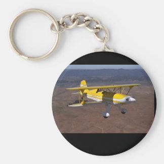 Starduster 1993, Schellville, CA_Classic flyg Rund Nyckelring