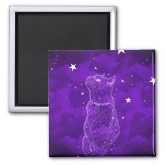Stargazing kattmagnet magnet