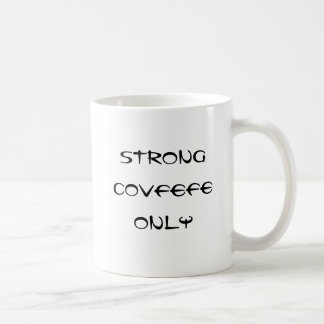 Stark covfefe endast kaffemugg