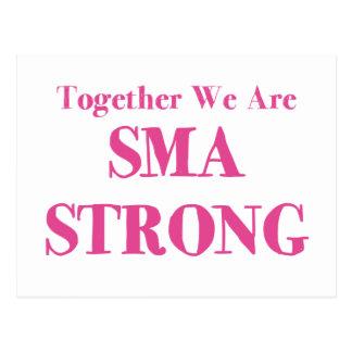 Stark SMA - rosor Vykort