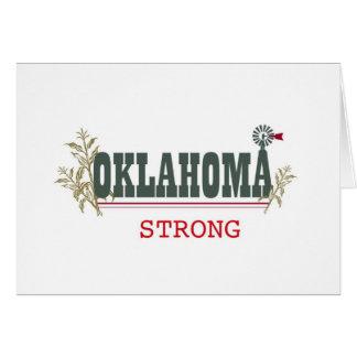 Starka Oklahoma Hälsningskort