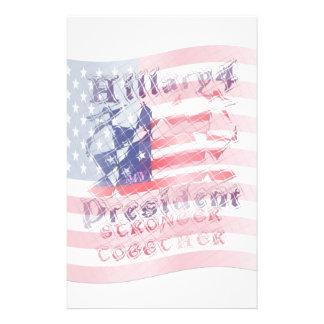 Starkare tillsammans USA Hillary 4 Brevpapper