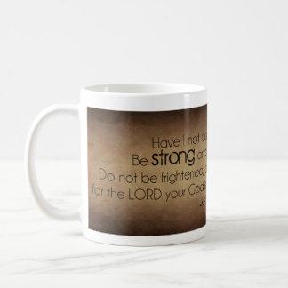 Starkt och modigt kaffemugg
