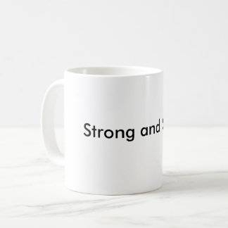 Starkt och stabilt kaffemugg