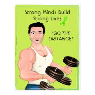 Starkt varar besvärad starka liv för vykort