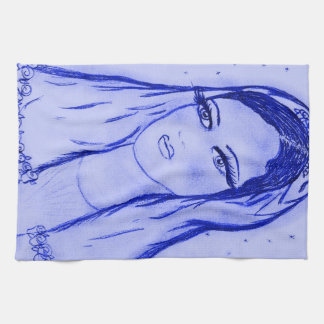 Starlight Mary i blått Kökshandduk