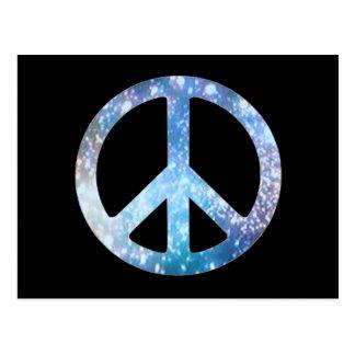 Starry fredstecken vykort