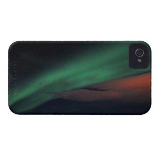 Starry himmel för nordligt ljus iPhone 4 case
