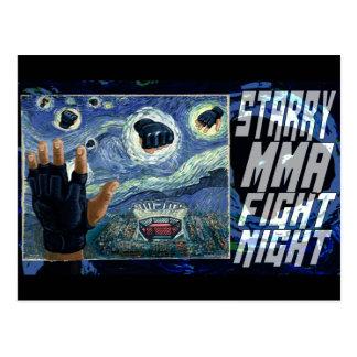 Starry Muttahida Majlis-E-Amal slåss natt Vykort