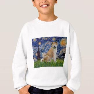 Starry natt - Akita Inu T-shirt