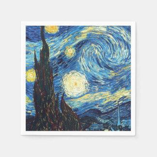 Starry natt av Van Gogh Pappersservett