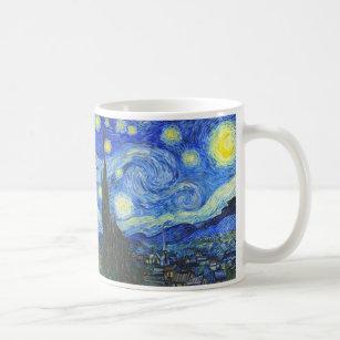 Starry natt av Vincent Van Gogh Kaffemugg