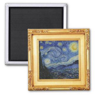 Starry natt av Vincent Van Gogh - magnet