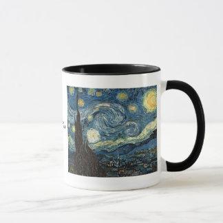Starry natt av Vincent Van Gogh Mugg