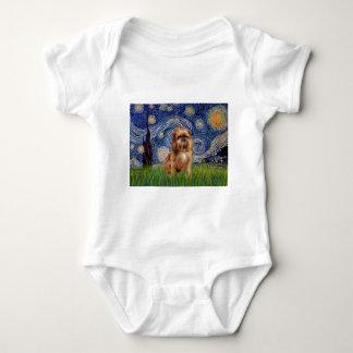 Starry natt - bruna Bryssel Griffon T-shirts