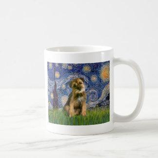 Starry natt - gränsTerrier #1 Kaffemugg