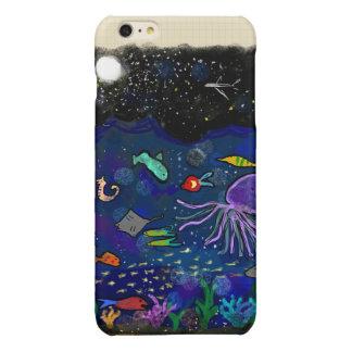 Starry natt över hav
