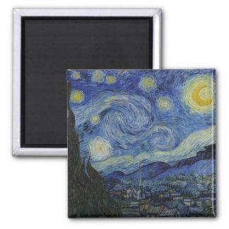 Starry natt Vincent Van Gogh Magnet