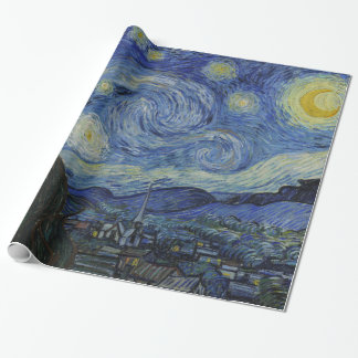 Starry natt Vincent Van Gogh Presentpapper