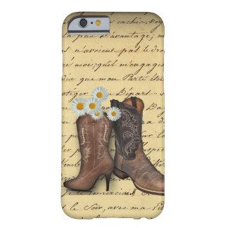 Startar den westerna cowboyen för vintage barely there iPhone 6 skal
