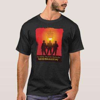 Stås högväxt minnedagT-tröja Tröjor
