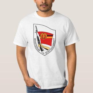 Stasi mission för statlig säkerhet, East Germany Tshirts