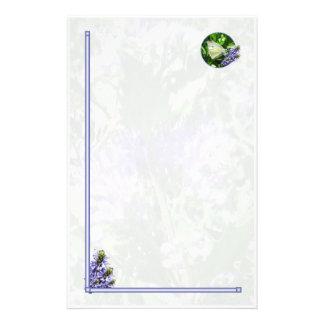 Stationär påskvitfjäril brevpapper