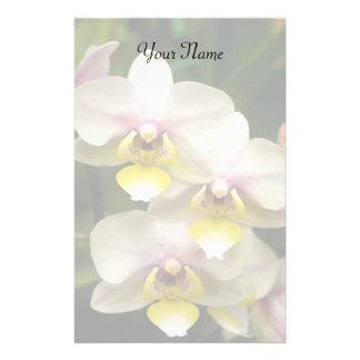 Stationära Orchids Brevpapper