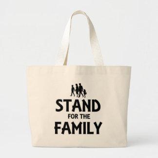 Stativ för familjen tote bags
