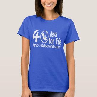 STATIV för KOM 40DAYSFORLIFE.COM UPP FÖR LIV! T Shirt