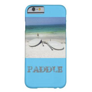 Stativ upp Paddle stiger ombord det mobila fodral Barely There iPhone 6 Fodral